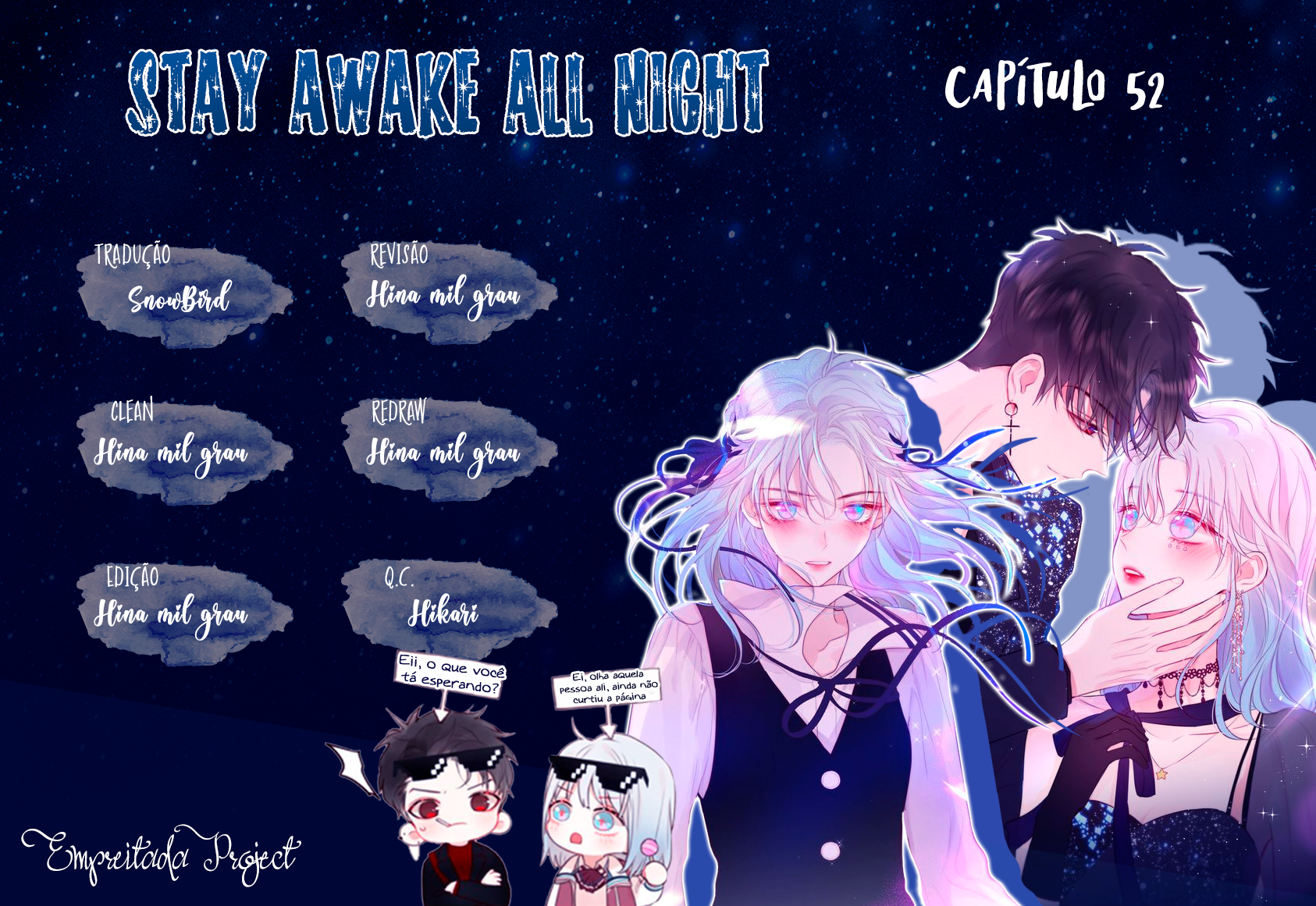 Ler mangá Stay Awake All Night - Capítulo 52 online